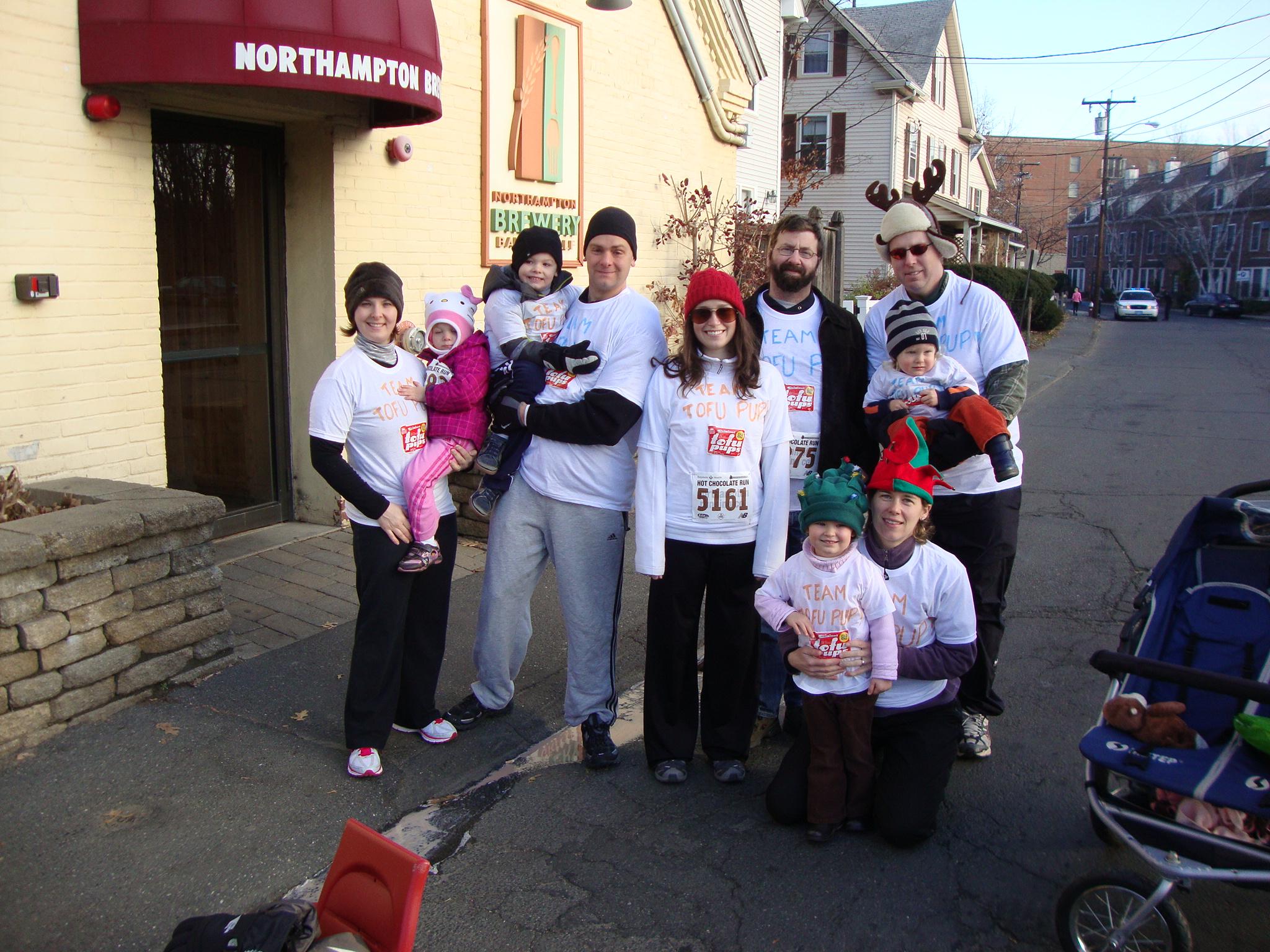 Team Tofu Pup and the Hot Chocolate Race! | Blog-itarian
